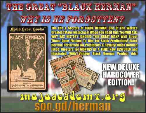 BLACK HERMAN HARDCOVER ANNOUNCEMENT copy