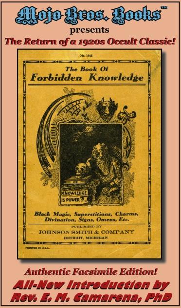 FORBIDDEN KNOWLEDGE promo Cover