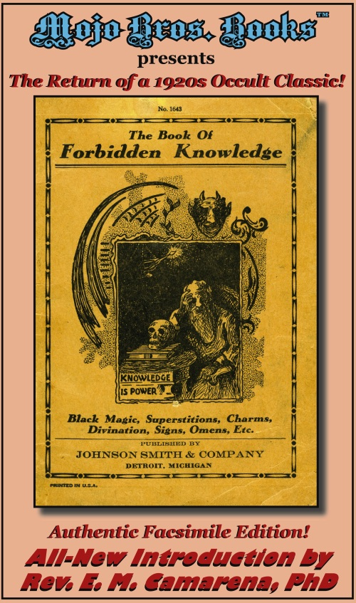 FORBIDDEN KNOWLEDGE promo Cover