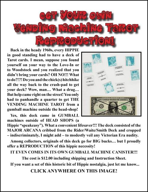 SITE Vending Tarot Announcement ENGLISH