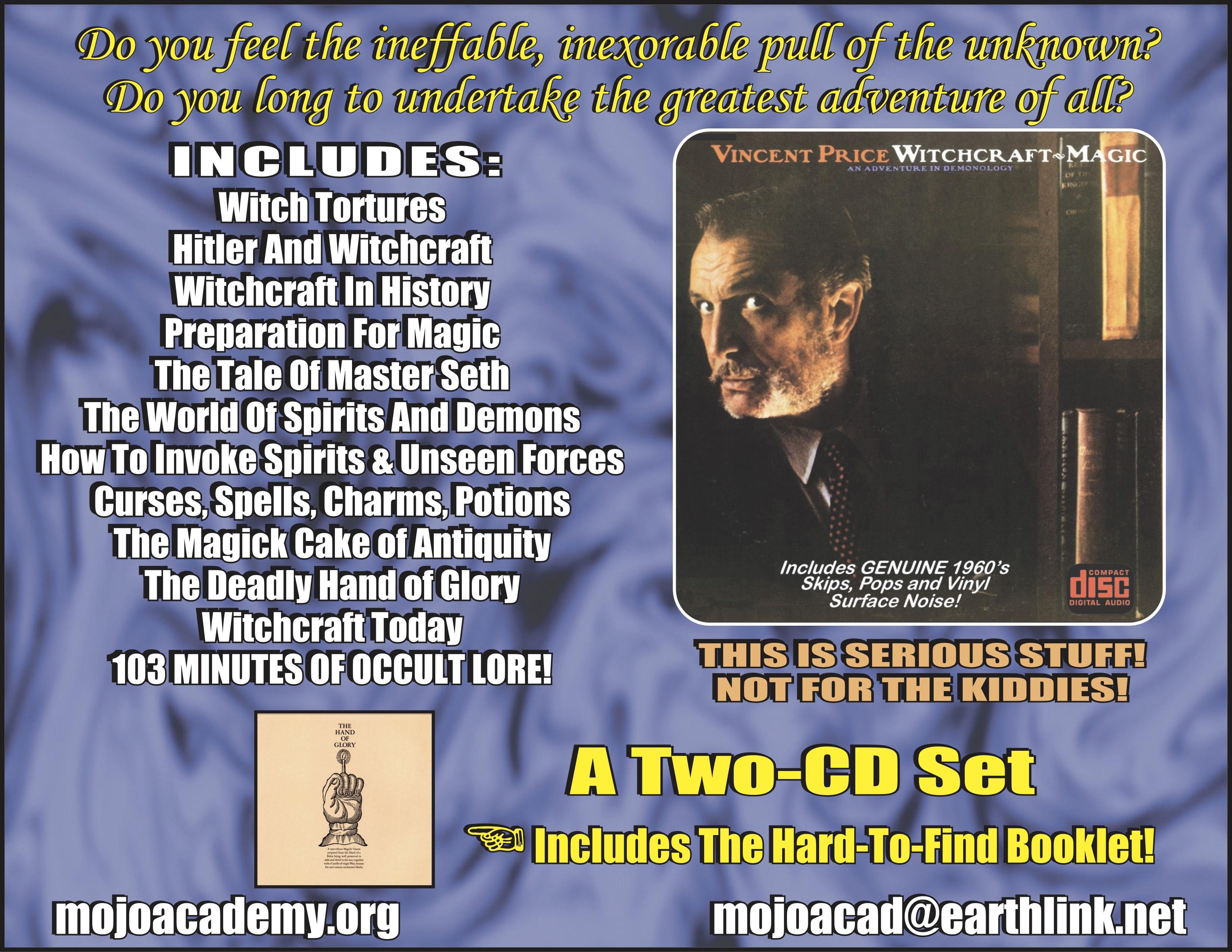 Vincent Price Album AD