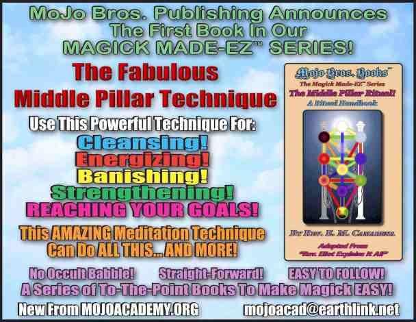 Magick Made EZ Middle Pillar announcement