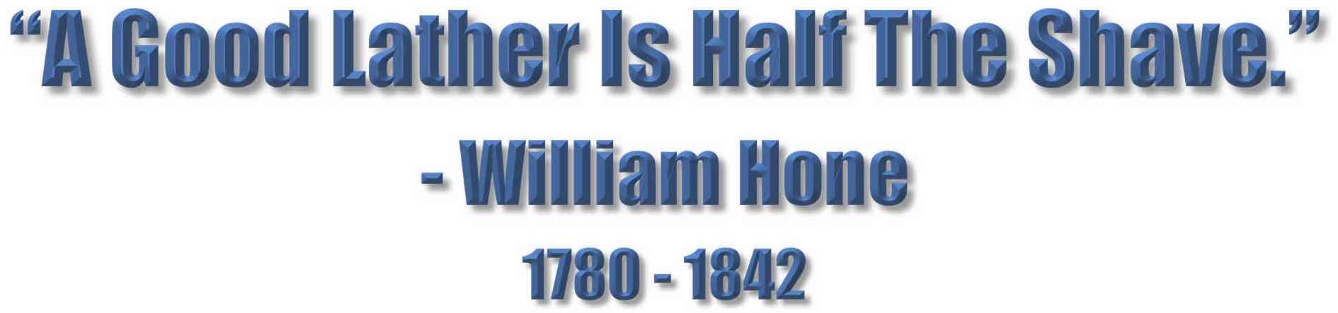 Hone Lather Banner