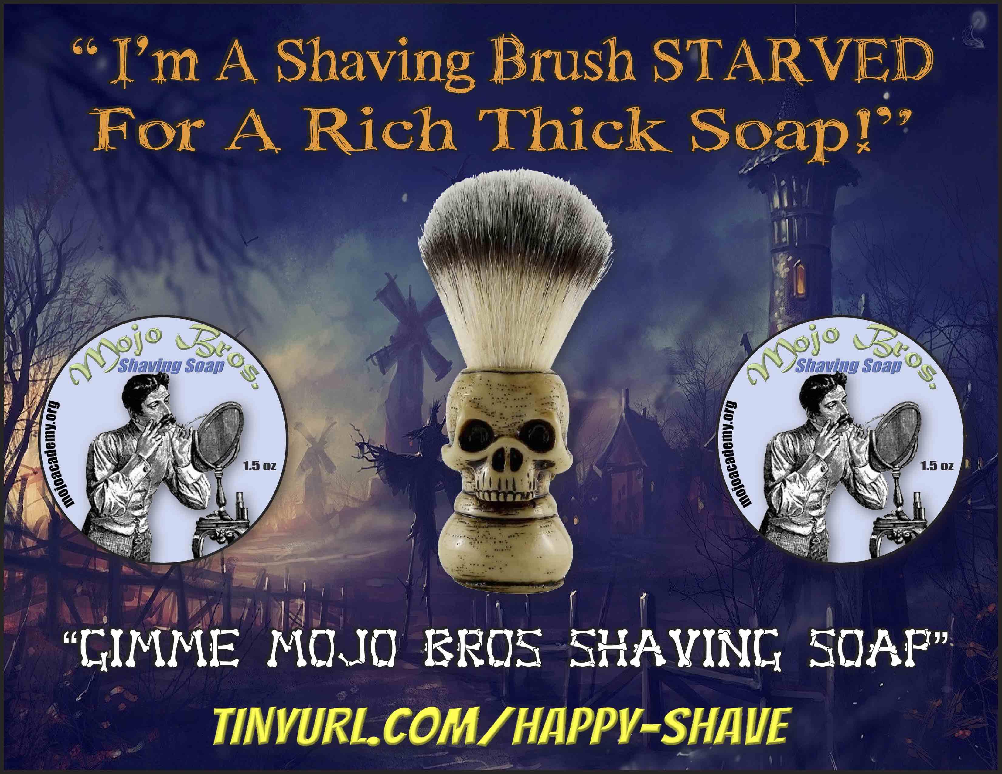 Starved Shaving Brush small